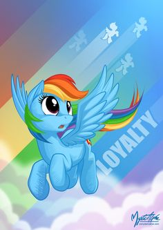 Rainbow's Loyalty by mysticalpha.deviantart.com on @deviantART