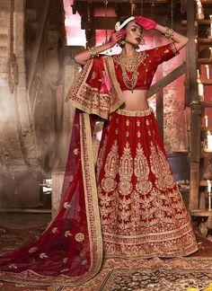 Wedding Lehenga Pakistani Choli Indian Bollywood Traditional Ethnic wear Bridal…