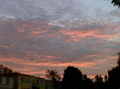 Red sunset #3