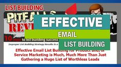 List Building Pitfalls Revealed Free Ebook Download