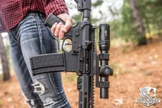 Hexmag Magazine and Advanced Tactical Grip for the WIN!  Photo by Greg Skaz Photography