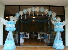 12 Ideas decorativas con globos para cumpleaños - baby shower - bautizos y mucho más