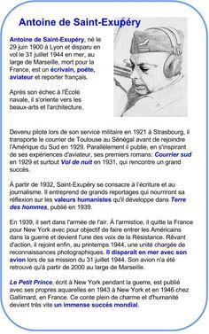 Antoine de Saint-Exupéry | À la française …