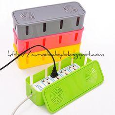 Power Cord Storage Box    Price : $7.50