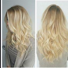 """Hair by Chelsea! #vanilla#butteryblonde#blondes#color  #prettyhair#colorist#wella#wellalife  #wellaeducation#natural  #dyerandpostsalon"""