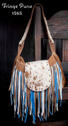 Hey, I found this really awesome Etsy listing at https://www.etsy.com/listing/184657401/fringe-purse-blue-white