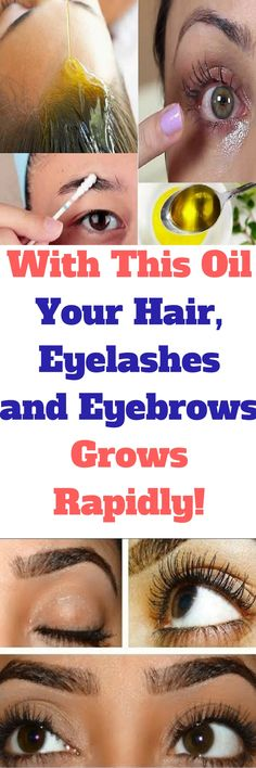 Long hair and thick eyebrows and eyelashes are a dream for everyone. However, only a few are blessed to have them. The others have to struggle with hair loss and thin eyebrows. This is a result of poor diet, pollution or heredity. Fortunately, nature itself offers a wide range of natural remedies, which will help you grow thick hair, eyebrows, and eyelashes.
