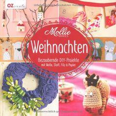 Mollie Makes - Weihnachten: Bezaubernde DIY-Projekte mit Wolle, Stoff, Filz & Papier von Evelyn Hasenbein http://www.amazon.de/dp/3841062636/ref=cm_sw_r_pi_dp_IECJub1EP0HQ9