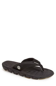 Volcom+'ATR'+Flip+Flop+(Men)+available+at+#Nordstrom