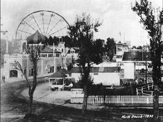 La Guardia Airport was built on the former site of an amusement park, shown here in 1892. La