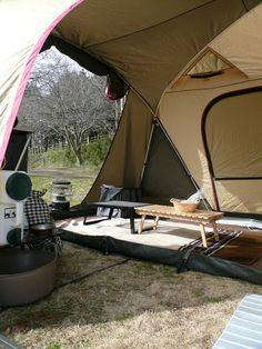 ティエラ5の中にリビングシートを縦向きに入れたら使いやすい! #Ogawacampal #Tierra5EX #Camp  #gear