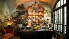 Diner Decor, Toledo Museum Of Art, Soften Hair, New York School, Project Site, Restaurant New York, Bar Set, Off The Wall, Cool Bars