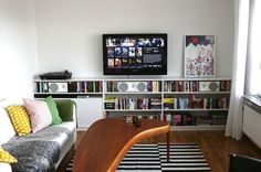 10 Ideas to Steal from Parne's Entertainment Center