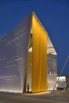 Holy See Pavilion, Expo Milano 2015 - Architectural design: Quattroassociati…