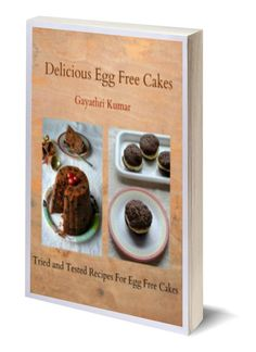 Delicious Egg Free Cakes - My first e book - An e book on basics of egg free baking and recipes for 11 delicious tried and tested cake recipe. Egg Recipes, Sweet Recipes, Cake Recipes, Marzipan, Eggless Banana Muffins, Egg Free Cakes, Baking Basics, Eggless Baking, Honey Cake