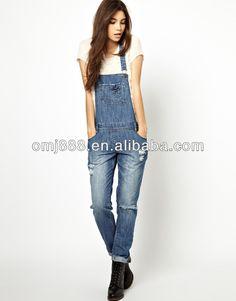 #denim jumpsuit, #patch pockets denim jumpsuit, #100% cotton denim jumpsuit