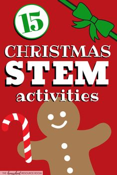 15 FUN Christmas Science Experiments & STEM Activities 15 Christmas science experiments and STEM activities for the holidays! Hands-on science to keep learning going through the end of the year! Fun Christmas, Christmas Activities For Kids, Preschool Christmas, Christmas Countdown, Xmas, Preschool Science, Science Classroom, Science For Kids, Science Room