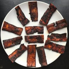 Sundays are for coffee and a fried breakfast. A vegan fried breakfast can be just as good as a meat-based one, and it starts with my vegan tofu bacon.