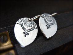 Marrakesh teardrop earrings by sirenjewels on Etsy