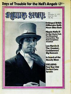 Rolling Stone Cover of Keith Moon