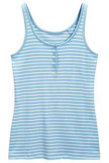 Stripe Rib Vest (144864G7X) | £8