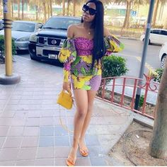 2020 Gorgeous Ankara outfit you will love to slay with Ankara Short Gown Styles, Lace Dress Styles, African Lace Dresses, Short Gowns, Latest African Fashion Dresses, Latest Fashion, Beautiful Ankara Gowns, Beautiful Ankara Styles, Beautiful African Women