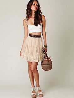Intimately Free People FP New Romantics Woven Bustier at Free People Clothing Boutique