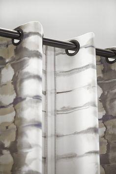 Gordijnen met waveplooi aan staaldraad | Artelux / Wat voor een ...