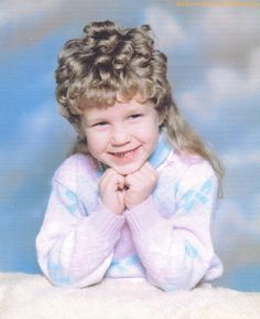 The Challenge - Just try to find a perm-mullet as gorgeous as this one, even  AwkwardFamilyPhotos.com has met its match.