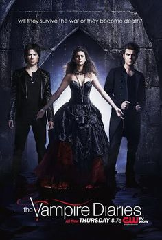 Hey Everyone This is a Promo Poster For TVD I MadeFeaturin' The Trio Ian Somerhalder as Damon Salvatore , Nina Dobrev as Elena Gilbert and Paul Wesley as Stefan SalvatoreUnder The Title: will they survive the war or,they become death ? Vampire Diaries Stefan, Vampire Diaries Outfits, Vampire Diaries Poster, Vampire Diaries Quotes, Vampire Diaries Seasons, Vampire Diaries Wallpaper, Vampire Diaries Cast, Vampire Diaries The Originals, Paul Wesley
