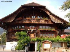 Chalet suizo tradicional en Interlaken