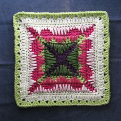 "Ice Cave square 11.5"" (pattern) by Susan720"