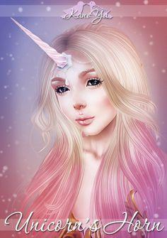 KanoYa Sims  Unicorn's Horn For TS4