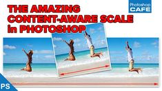 Learn how to use Content Aware scale in Photoshop to change the shape of a photograph without losing any detail.  See the trick to get a much better result in this free Photoshop Tutorial