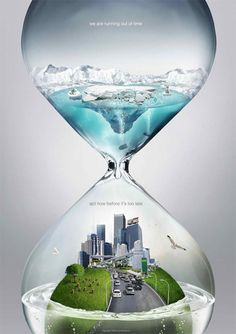 In this post we have added 30 creative Global warming poster design examples for your inspiration. Global warming is the rise in the average temperature of Earth's atmosphere and oceans since the Creative Advertising, Advertising Design, Advertising Ideas, Advertising Campaign, Graphisches Design, Graphic Design, Photomontage, Global Warming Poster, Visual Metaphor