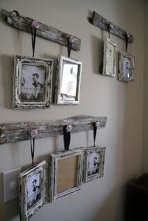 .Vintage Hanging Photos