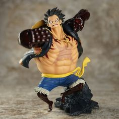 Luffy Doll Pvc Acgn Figure Toys Brinquedos Anime 18cm Collection Here One Piece Film Gold Monkey D Luffy Action Figure Black Clothes Ver Action & Toy Figures