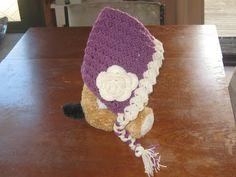 Knot Your Nana's Crochet: Vintage Baby Bonnet (Pixie Hat)