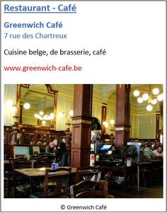 Restaurant Greenwich Café - 7 rue des Chartreux - Pentagone