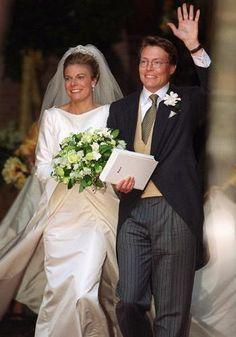 Prince Constantijn of the Netherlands, Prince of Orange-Nassau, Jonkheer van Amsberg & Petra Laurentien Royal Brides, Royal Weddings, Dutch Princess, Prince Of Orange, Dutch Royalty, Norwegian Royalty, Wedding Bride, Wedding Dresses, Royal House