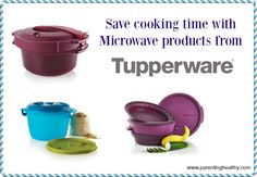 Save cooking time with @tupperwareusca  Microwave products