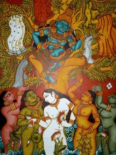 Art,Technology and Philosophy: Kerala Mural Paintings