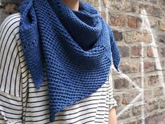 "Tunisian crochet shawl ""Schoeneberg""   Craftsy"