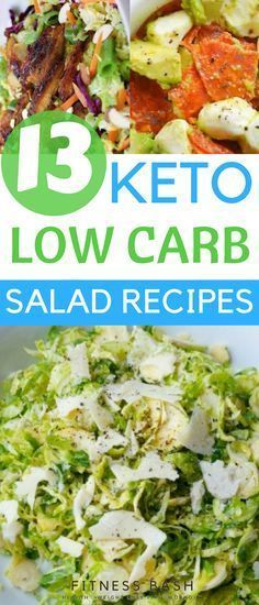 Low carb keto salad