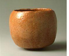本阿弥光悦(1558-1637)作 楽茶碗 銘「十王」(五島美術館蔵)