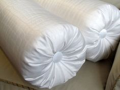 PURE WHITE CROCODILEnot really fabric Large by theBolsterQueens, $140.00