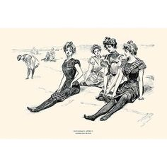"""Buyenlarge 'Picturesque America' by Charles Dana Gibson Painting Print Size: 44"""" H x 66"""" W"""