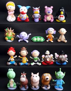 Personagens Toy Story 3