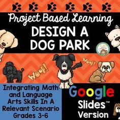 I've just made a digital version of one of my best sellers: Design a Dog ParkNow students can engage in this multi-disciplinary relevant project via Google Slides™ to practice a variety of skills. Various math skills are emphasized in this project including area, perimeter, addition, subtraction, m... Elementary Teacher, Teacher Pay Teachers, Elementary Schools, Math Skills, Math Lessons, Math Resources, Math Activities, Persuasive Letter, Technology Gifts