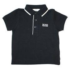 8231a813711f Boss Baby Boys Stripe Trim Pique Polo Top. Boss BabyHugo BossBaby BoysPoloPiquePolosLittle  BoysPolo ShirtTee Shirt